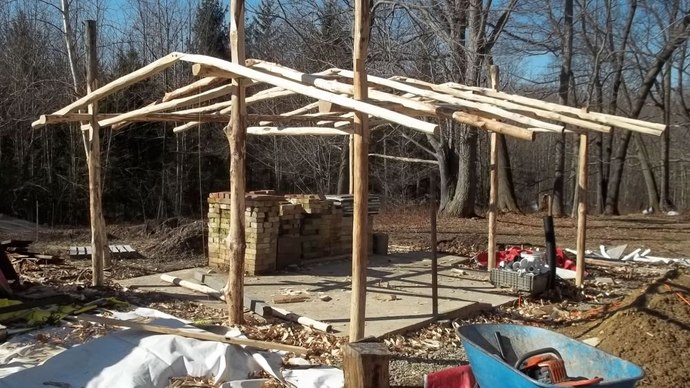 Building a Straw Bale Green House (1/2)