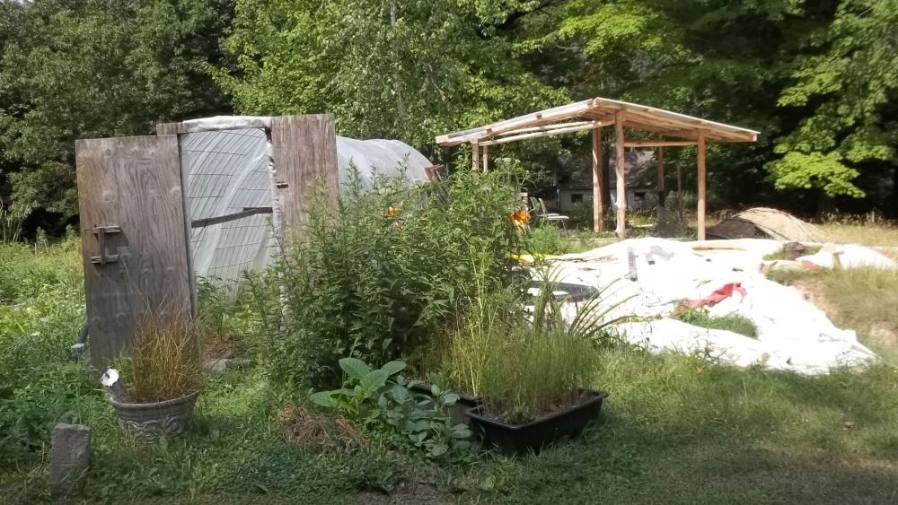 Building a Straw Bale Green House (2/2)