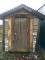 trimmed crib door