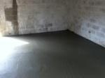 cement liquidish NW corner