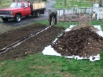 poo pile at The Actual Seed Garden