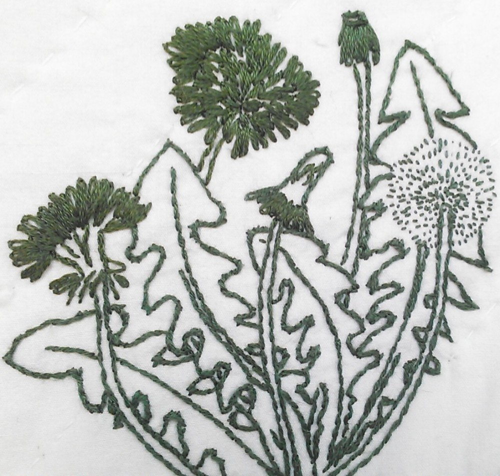 The Herb Quilt and a Tea Party (2/6)