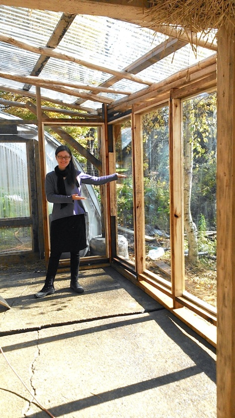 Inside the Seed House sunroom!