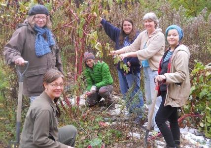 CHI Cohort 2014: Leah (kneeling front), Kat, Rachel, Karen, Sandy & Jessie.