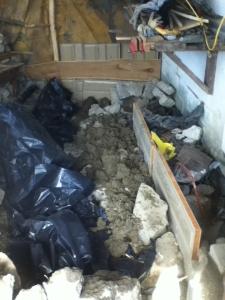 mass and floor infill