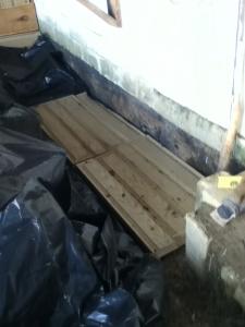 plastic and insulation