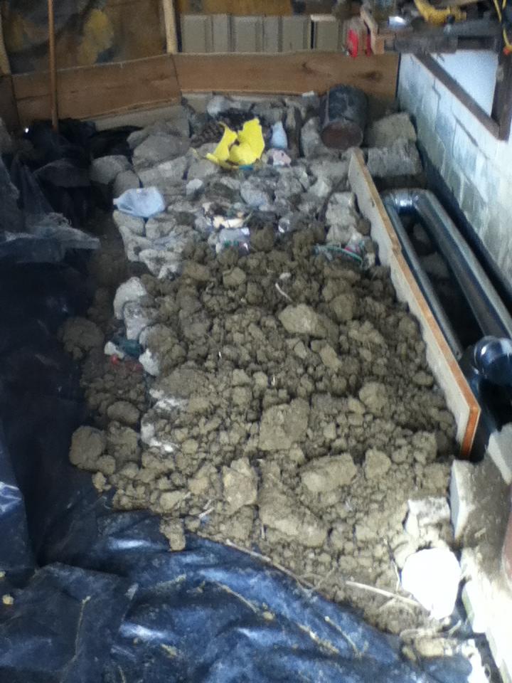 cement infill