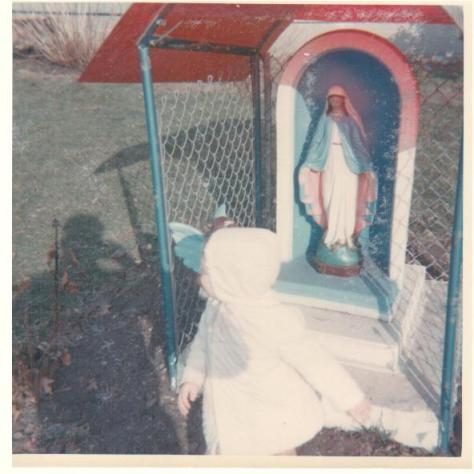 Baby barb in Bubba's Shrine