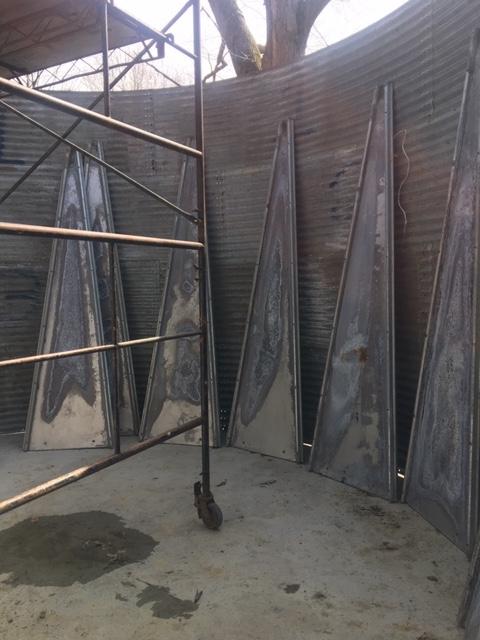 coop bin roof panels